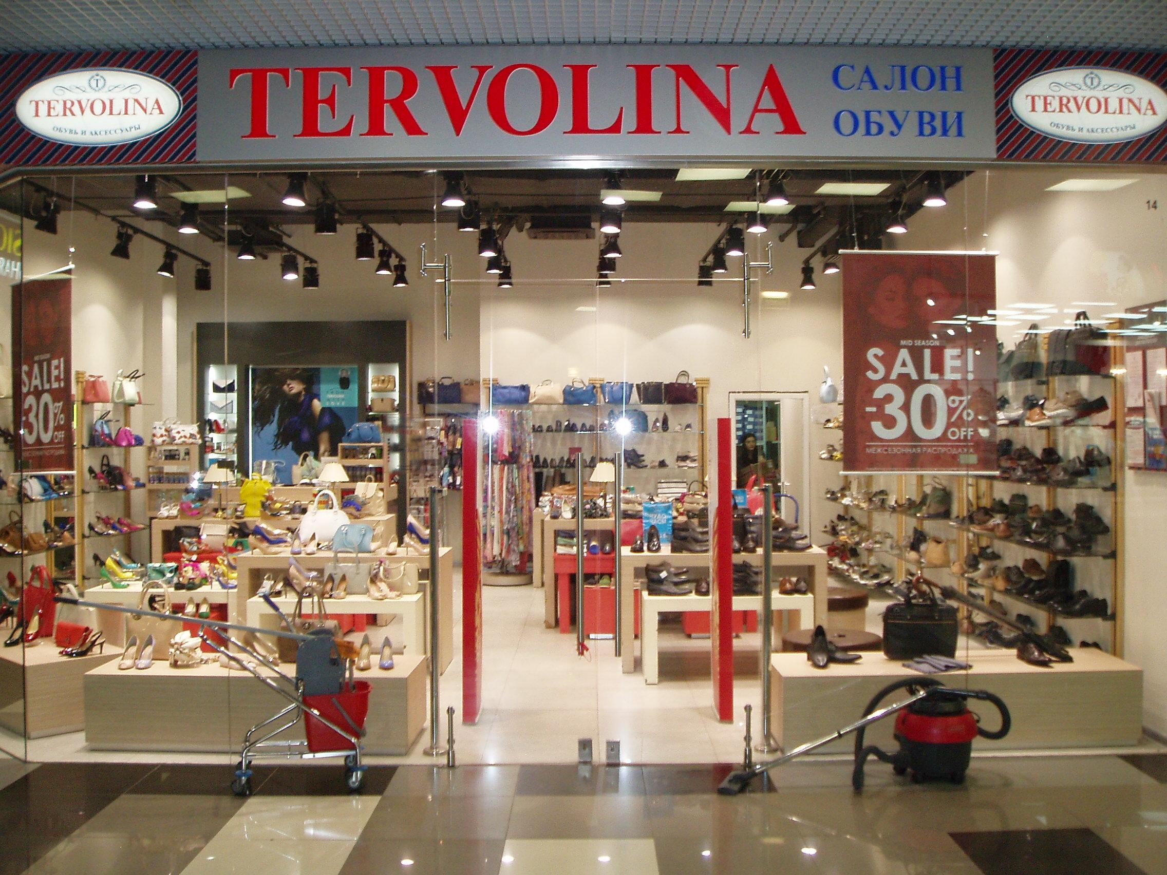 Салон обуви и сумок TERVOLINA в ТЦ Европейский